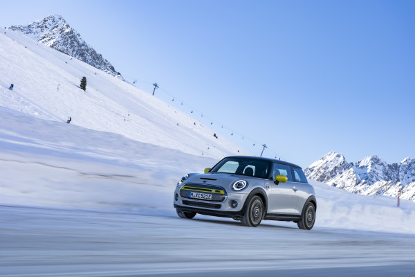 The mountain calls, the MINI Electric is coming.