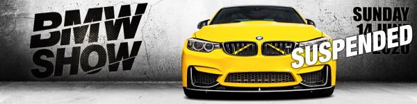 BMW Show Santa Pod – SUSPENDED