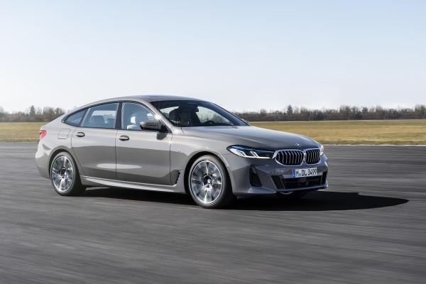 The new BMW 6 Series Gran Turismo.
