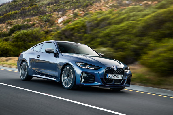 The all-new BMW 4 Series Coupé.