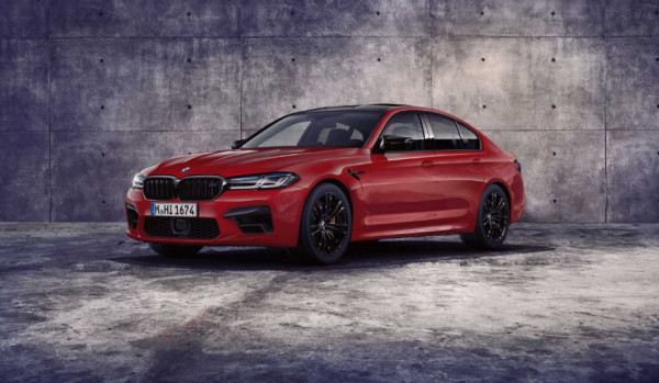 The new BMW M5 Competition.
