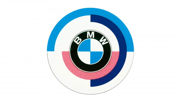 Blue, purple, red: a history of the BMW M logo