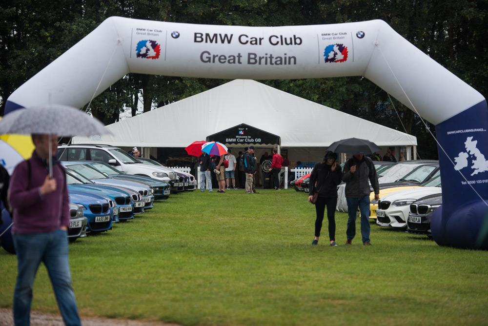 BMW Car Club Event Photo