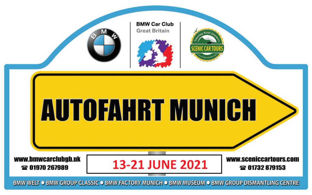 Autofahrt Munich 2021