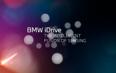 BMW announces the future of the display and operating system BMW iDrive at the CES 2021.