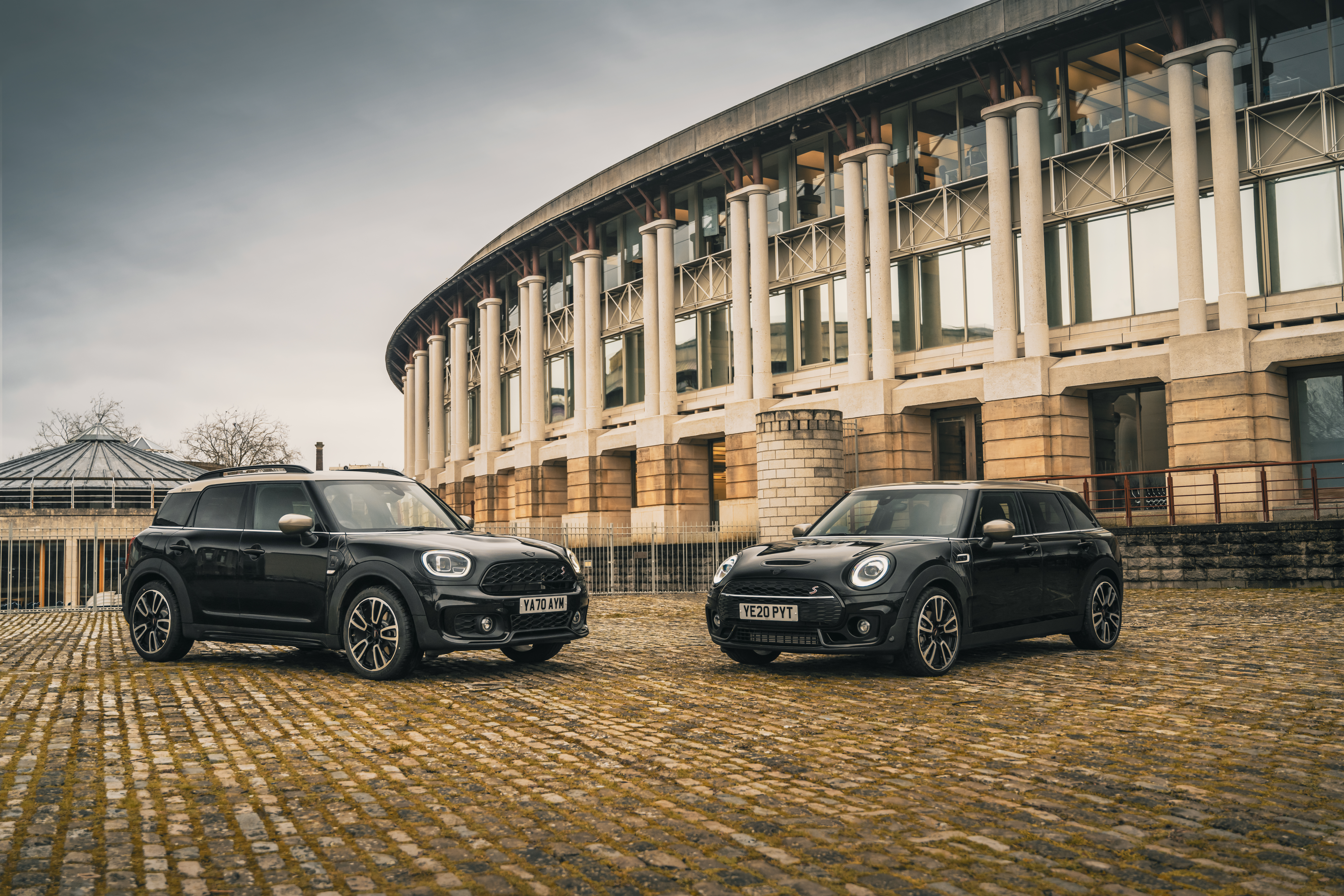 New Shadow Edition unveiled for MINI Clubman and MINI Countryman