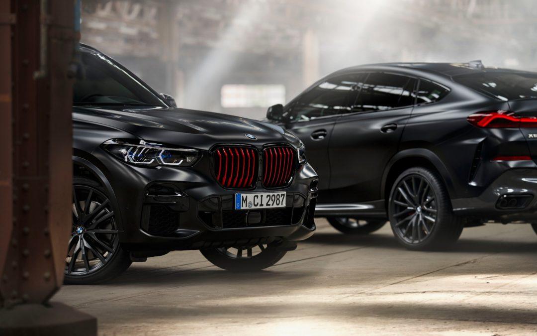 Individual aura, impressive presence: BMW X5 and BMW X6 limited editions Black Vermilion plus BMW X7 limited edition in Frozen Black metallic