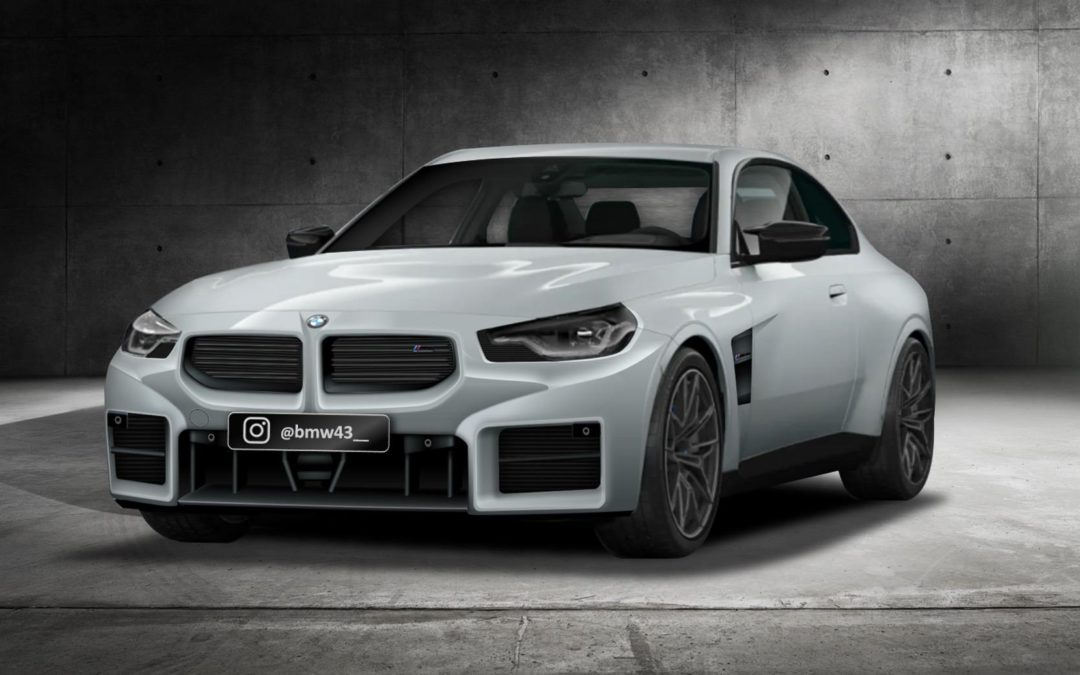 New BMW M2 Rendering Probably Looks Pretty Accurate!