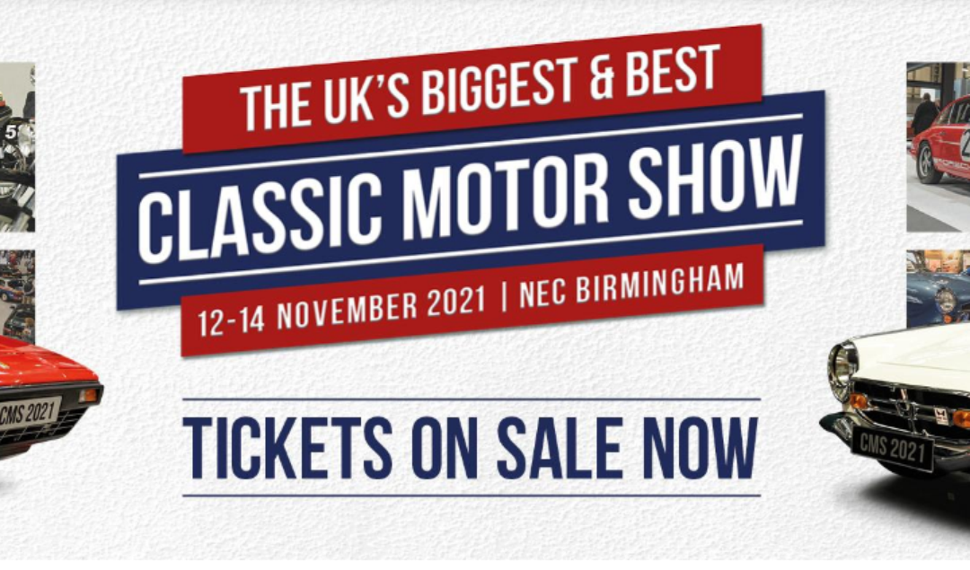 The Lancaster Insurance Classic Motor Show, with Discovery